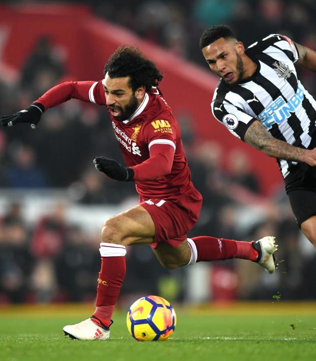 Mo Salah dive