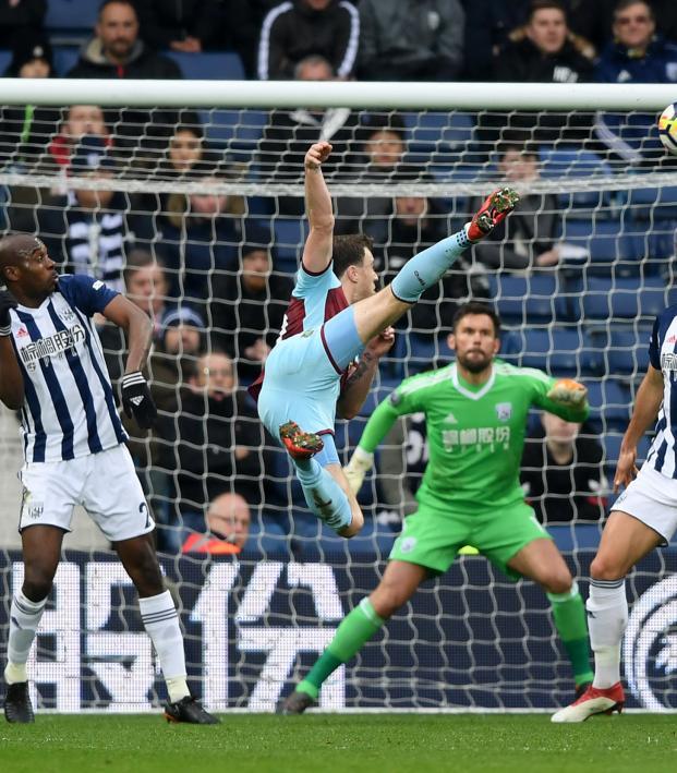 Ashley Barnes goal vs West Brom