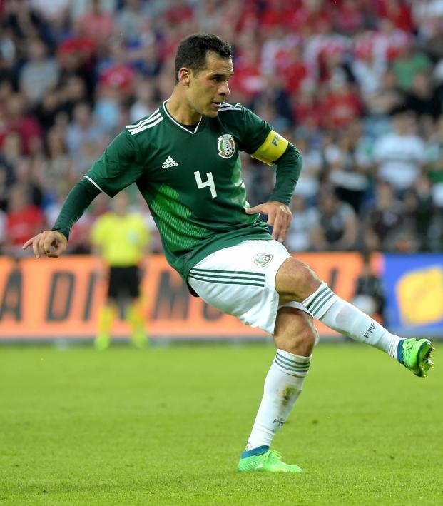 Mexico starting 11 vs Brazil features Rafa Marquez.
