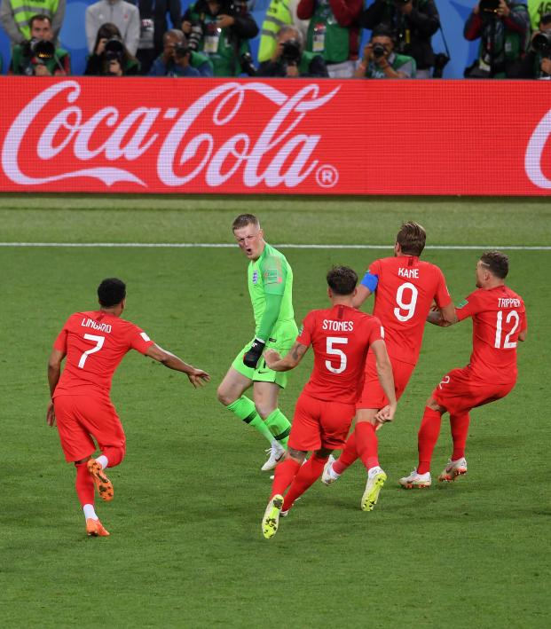 England vs Colombia penalty shootout highlights