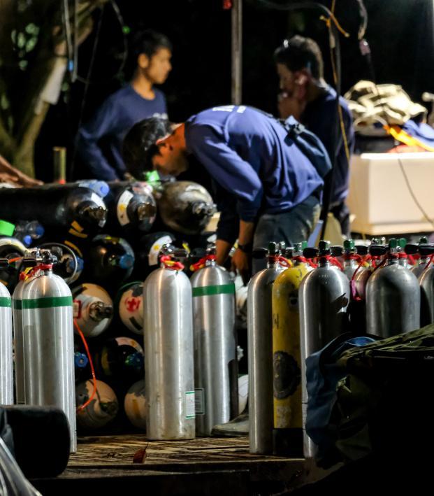 Thai soccer team cave rescue