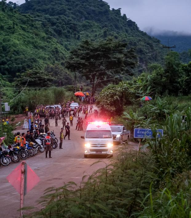 Thai Cave Rescue Update