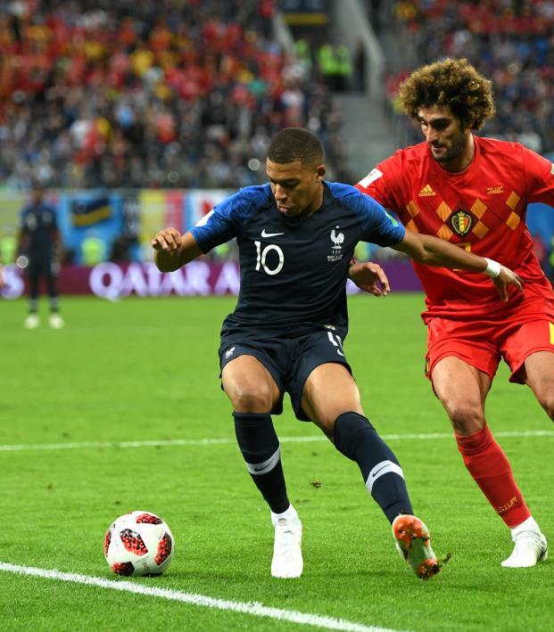 Kylian Mbappe skill vs Belgium