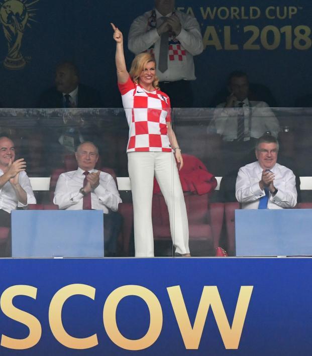 Croatia President Kolinda Grabar-Kitarovic