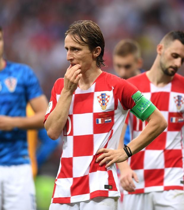 Luka Modric Golden Ball