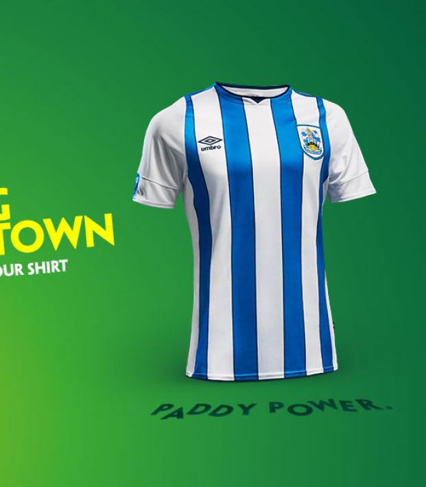 Huddersfield Paddy Power sponsor