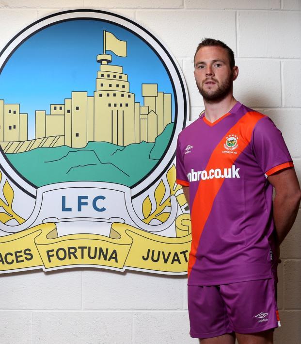 Linfield FC away kit