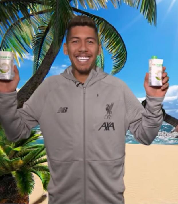 Liverpool coconut water ad