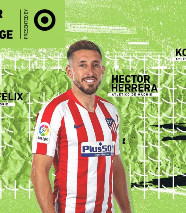 Hector Herrera Atletico Madrid