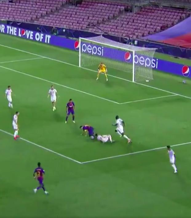 Lionel Messi goal vs Napoli