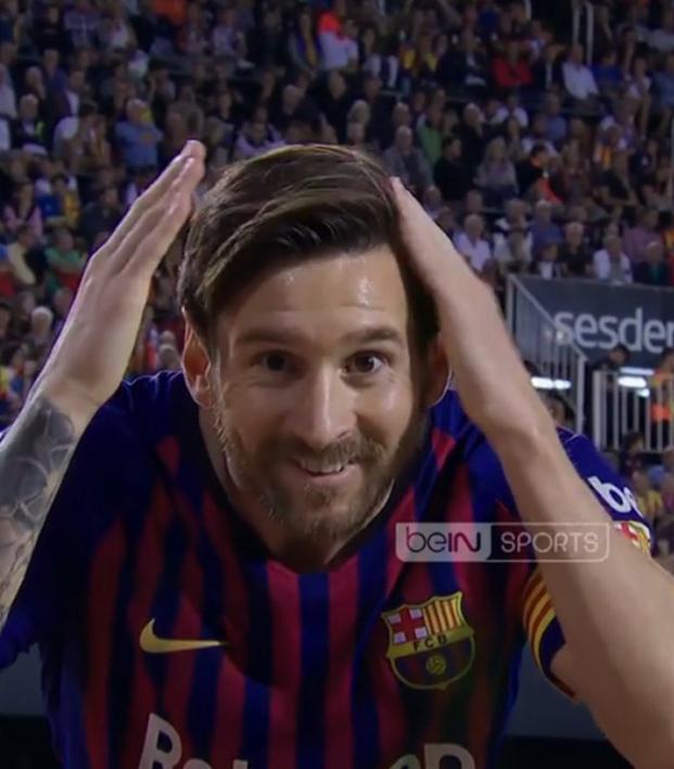 Lionel Messi goal vs Valencia