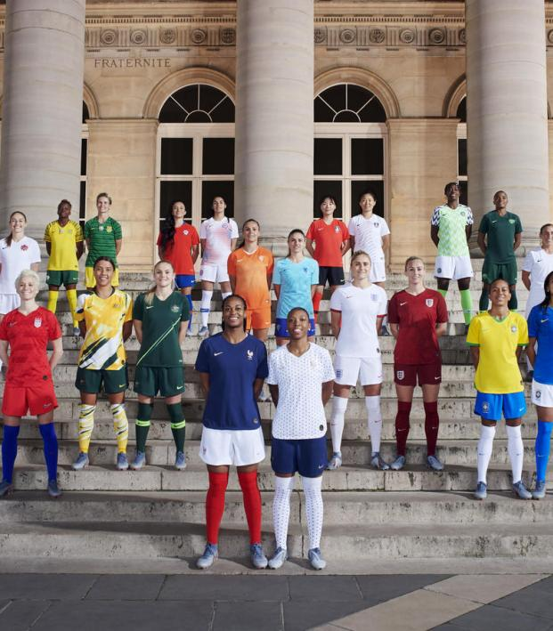 e8a33655e5e Women's World Cup Jerseys: List And Photos Of All 14 Nike Uniforms