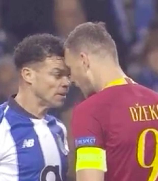Pepe headbutt