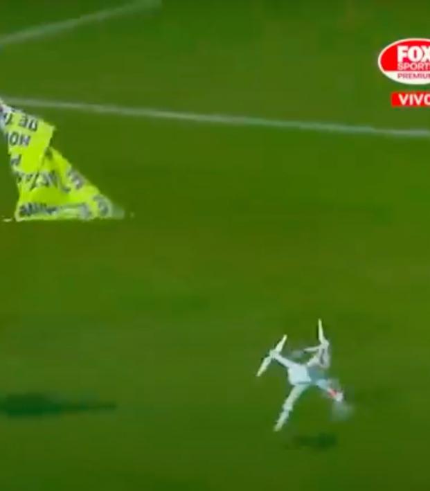 Rosario derby drone