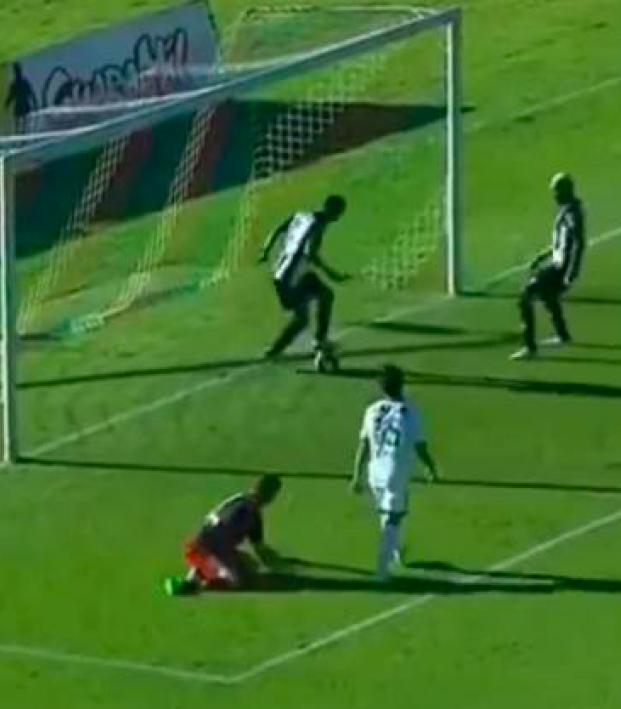 Goal robbery