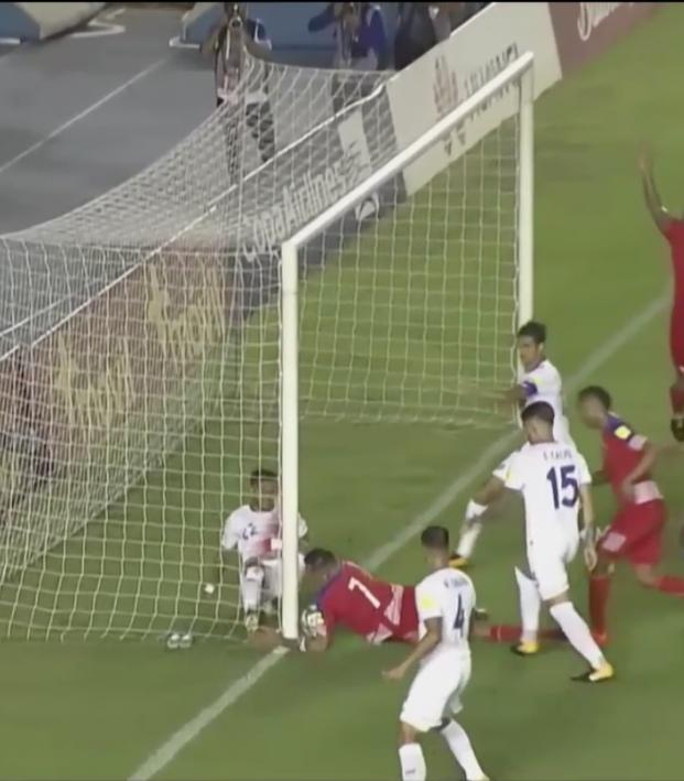 Panama non-goal