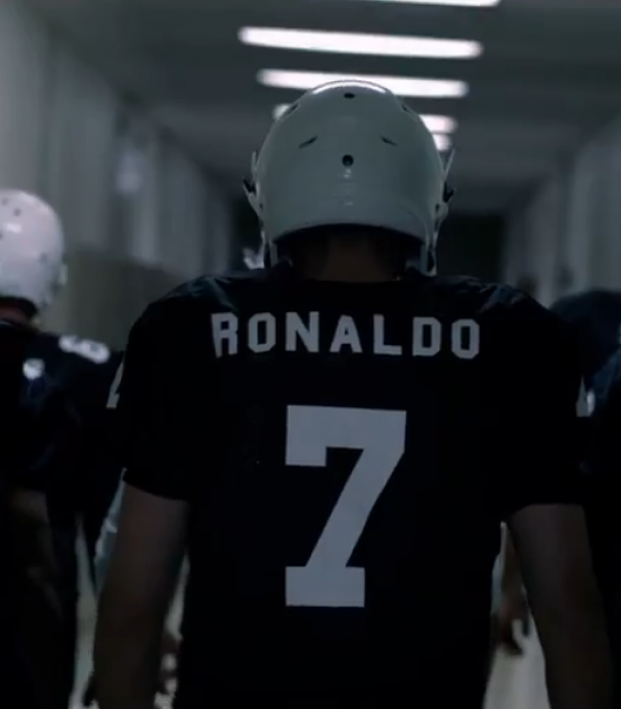 Cristiano Ronaldo football commercial
