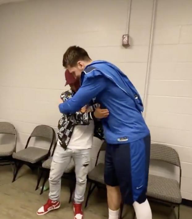 Eden Hazard meets Luka Doncic
