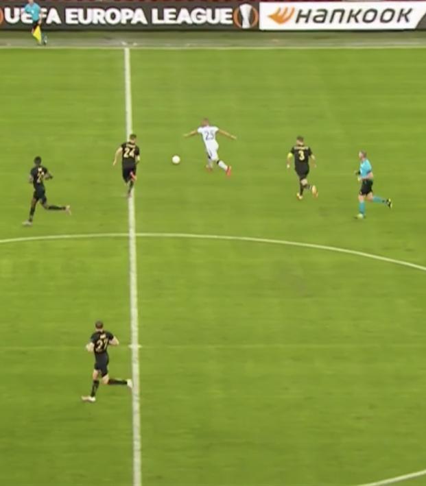 Kemar Roofe goal vs Standard Liege