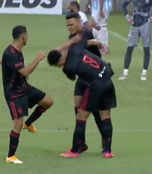 Flamengo celebration