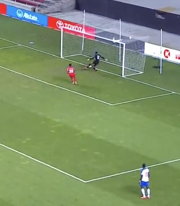 Haiti Own Goal Vs Canada