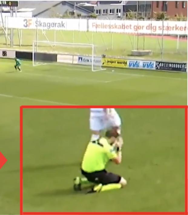 Danish Referee Failed Call