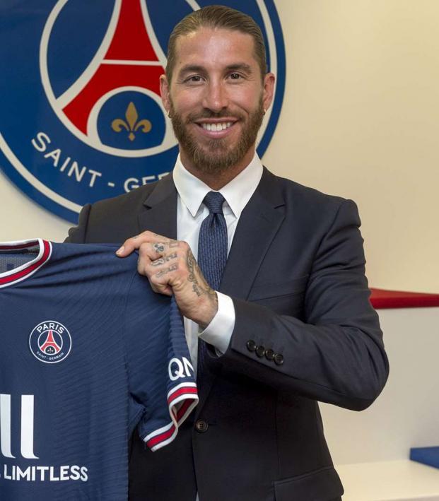 Sergio Ramos PSG contract