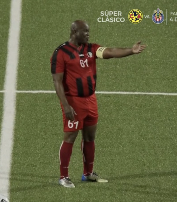 Suriname Vice President Soccer Appearance