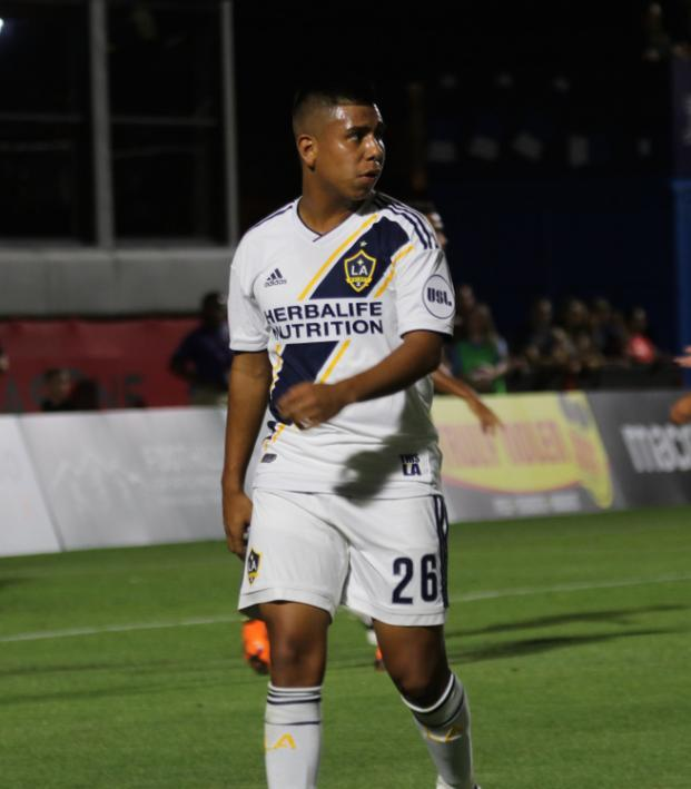 Efrain Alvarez LA Galaxy