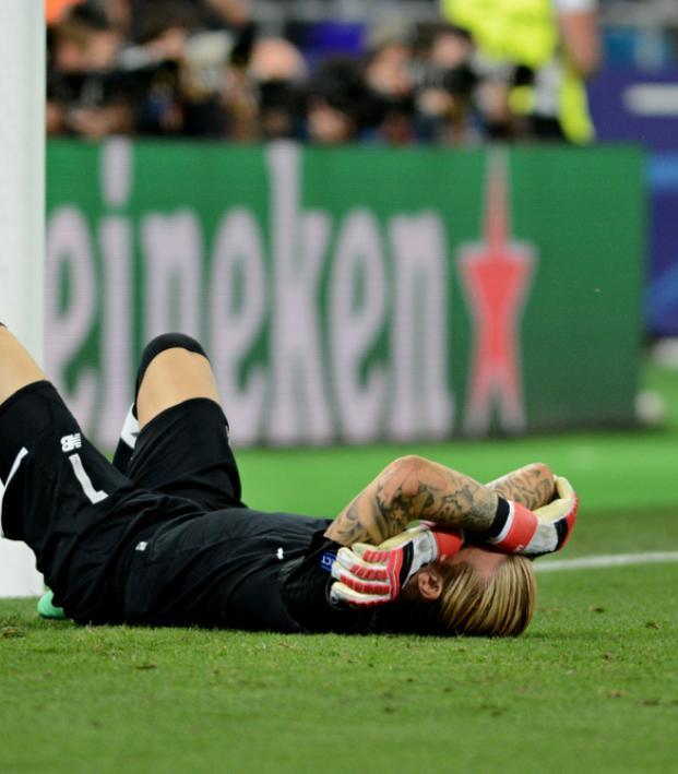 Loris Karius concussion
