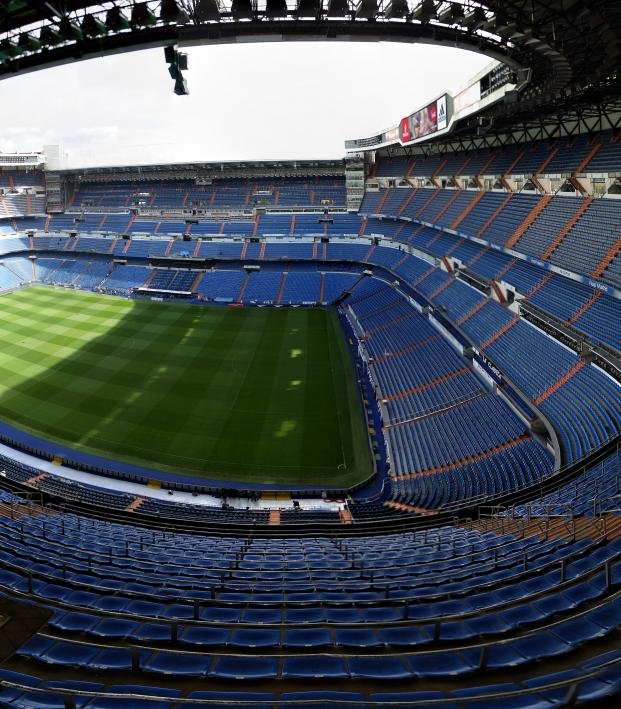 Real Madrid average attendance