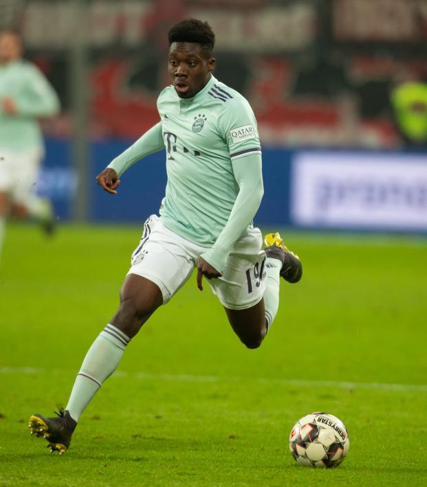 Alphonso Davies Bayern goal