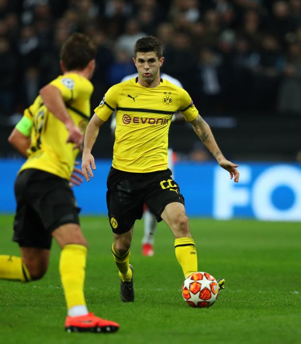 Christian Pulisic Dortmund highlights