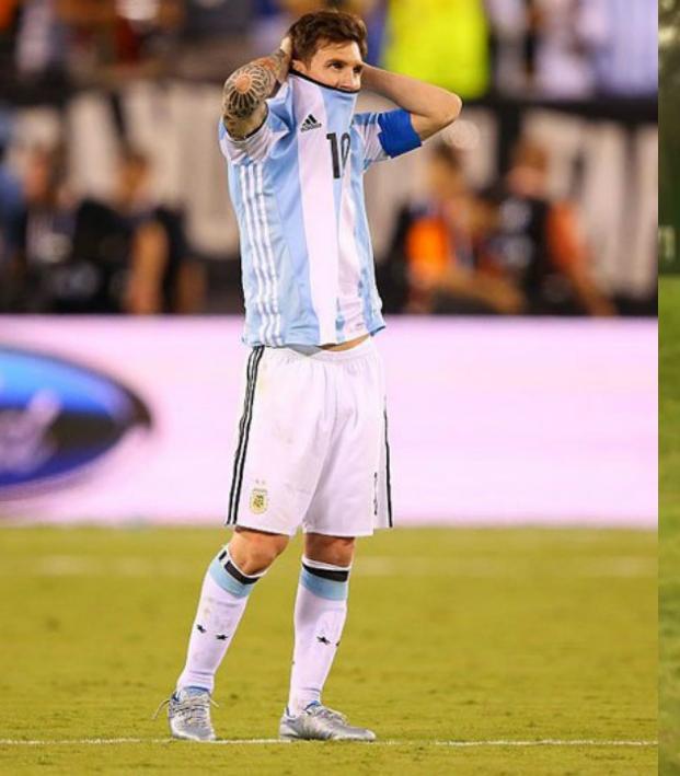 Lionel Messi and Brad Bobley