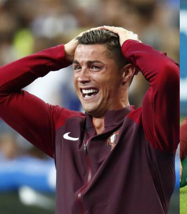 Finals Week as told by Cristiano Ronaldo