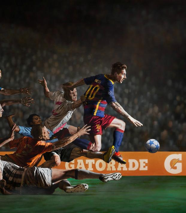 "The best soccer commercials of all time: Gatorade's ""Don't Go Down"" commercial with Lionel Messi"