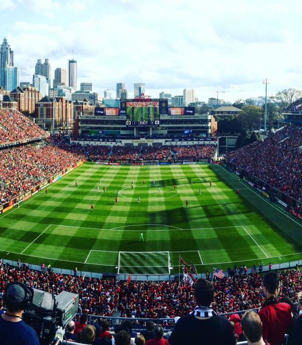Atlanta United's Bobby Dodd Stadium