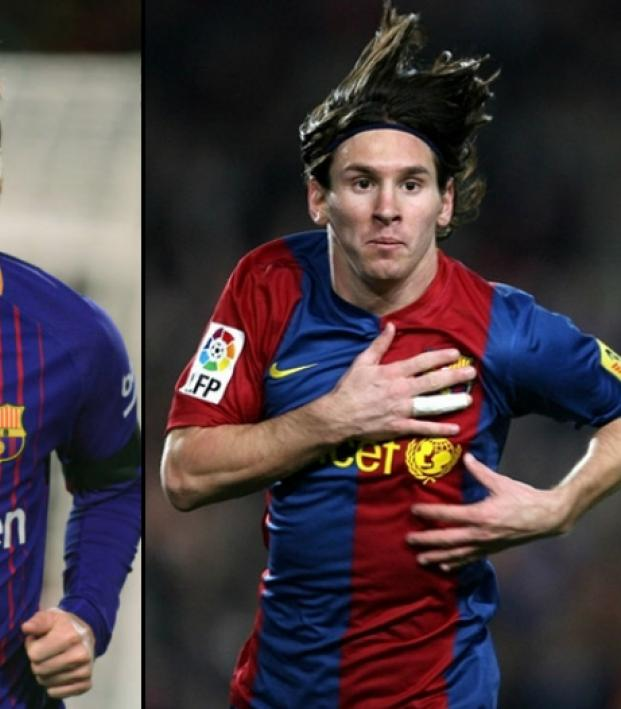 Lionel Messi 10 years ago