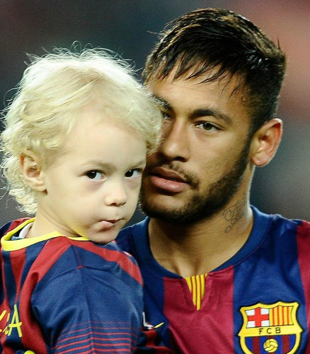 Footballer Family Photos: Neymar and son Davi