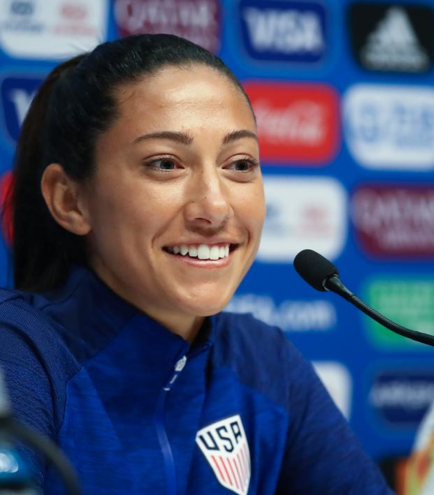Christen Press Speaks On Comments That The USWNT Is Arrogant