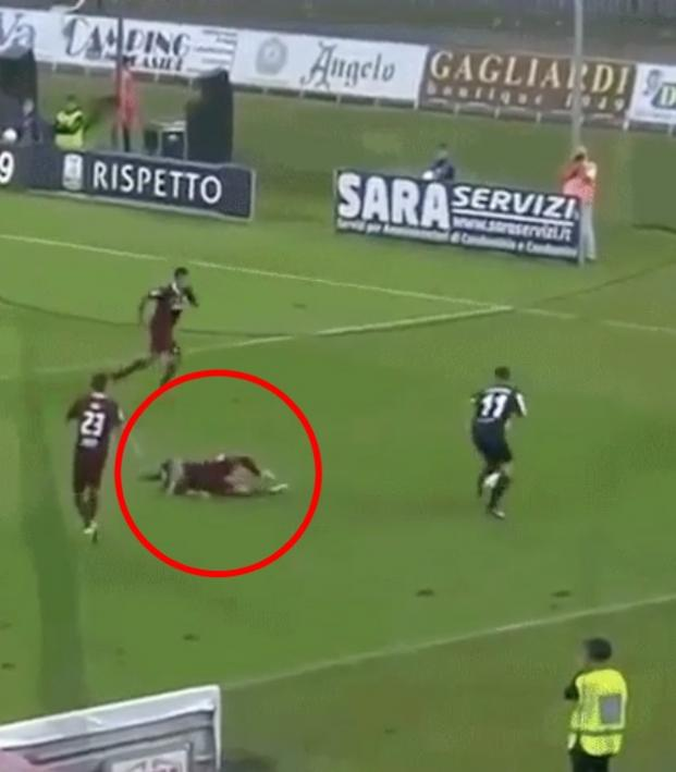 19 year old owns defender Serie B