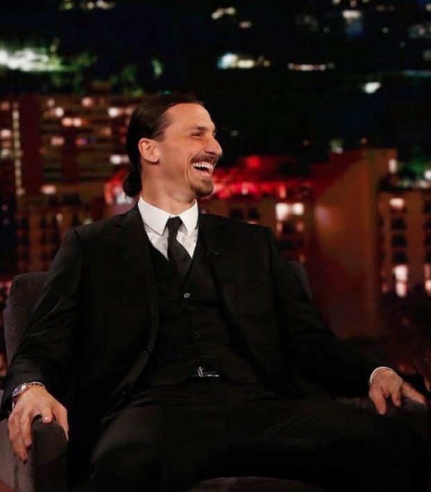 Zlatan Ibrahimovic on the Jimmy Kimmel show