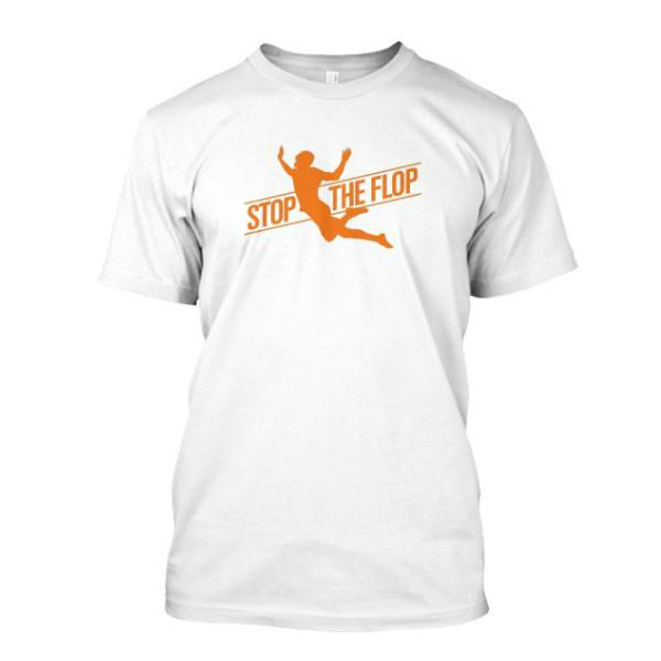 Original Stop The Flop Soccer Tee