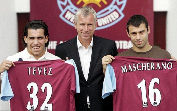 The most controversial transfers in football history: Carlos Tevez and Javier Mascherano