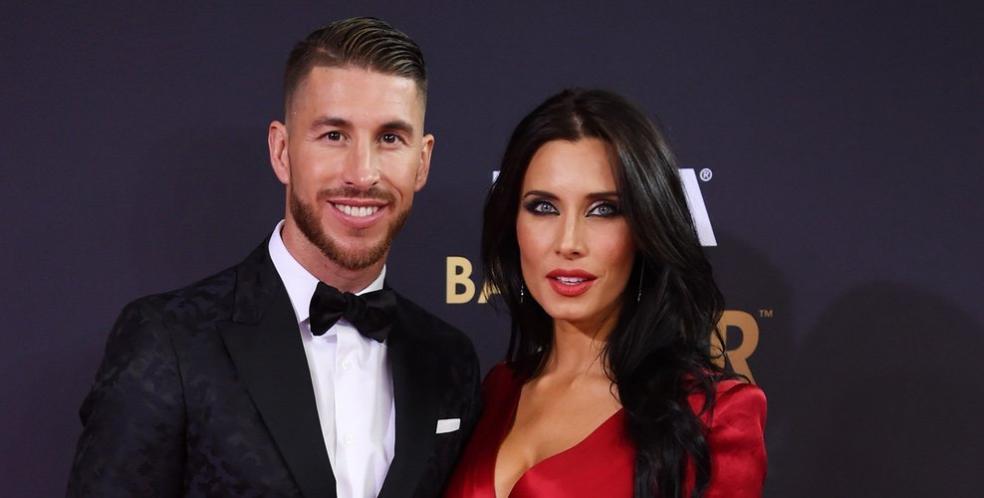 Athletes dating celebrities: Sergio Ramos & Pilar Rubio