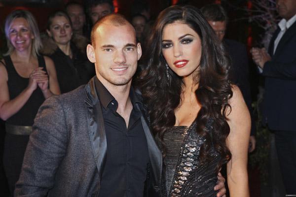 Footballers dating models