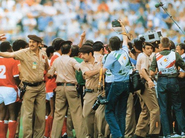 1982 World Cup Kuwait Protest