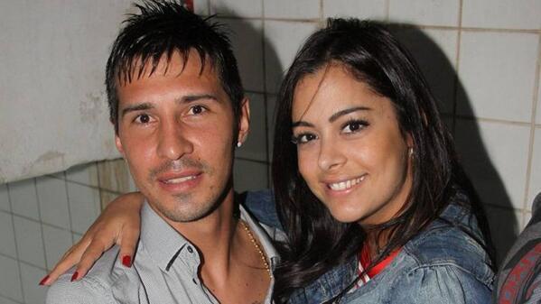 Athletes dating celebrities: Jonathan Fabbro & Larissa Riquelme