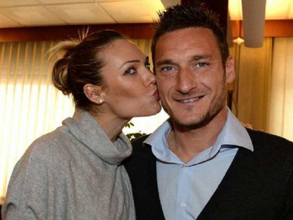 Athletes dating celebrities: Francesco Totti & Ilary Blasi