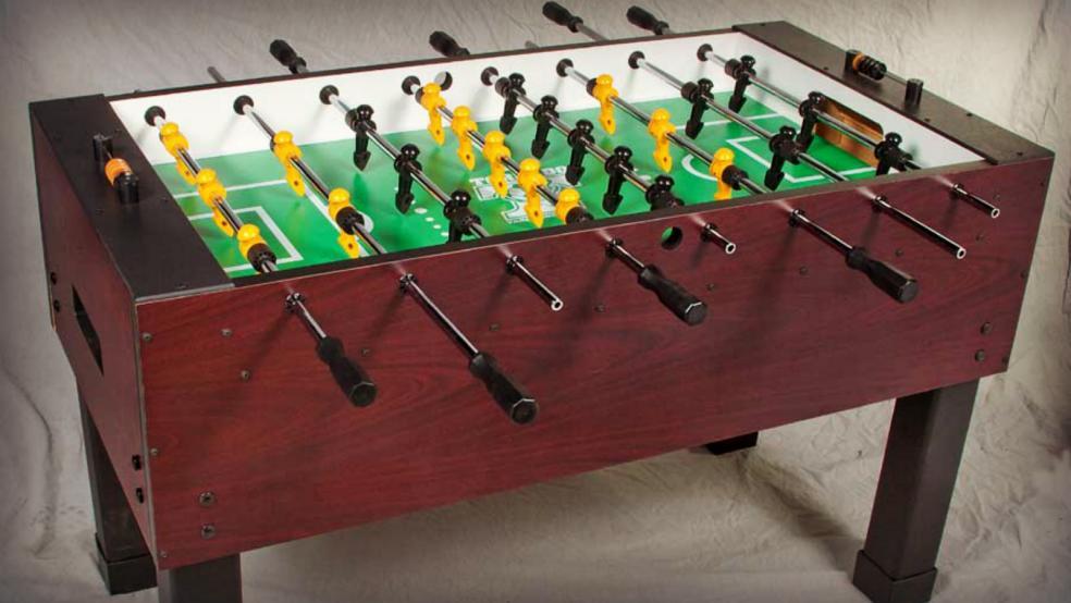 Best Soccer Gifts: Tornado Sport Foosball Table